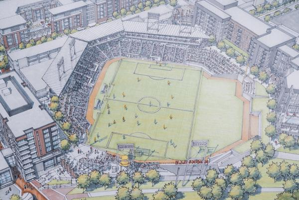 Picture for One Knoxville to play in Old City stadium if approved