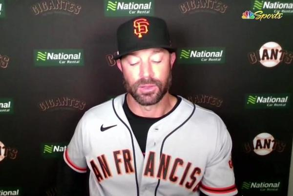 Picture for Giants get good news after disappointing series in St. Louis