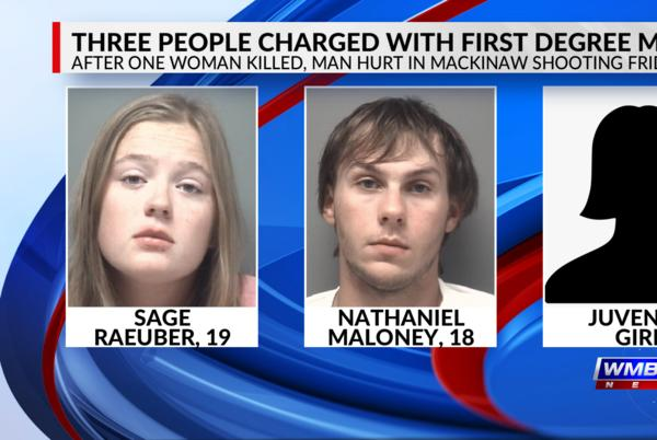 Picture for 3 in custody, 1 dead following shooting in rural Mackinaw Friday night