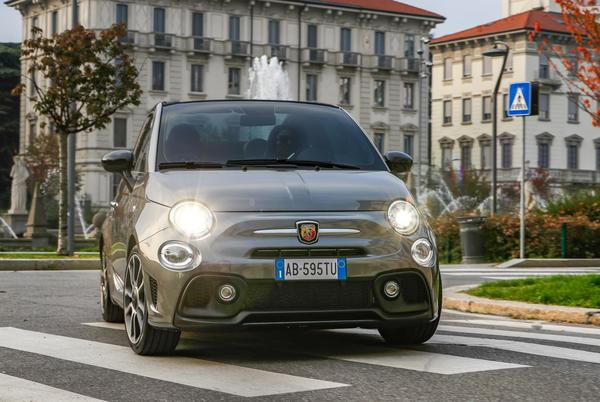 Picture for Refreshed Abarth 595 to light things up