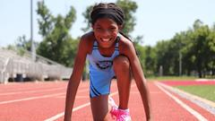 Cover for Topeka seven-year-old runs fastest 100m dash in the country this season