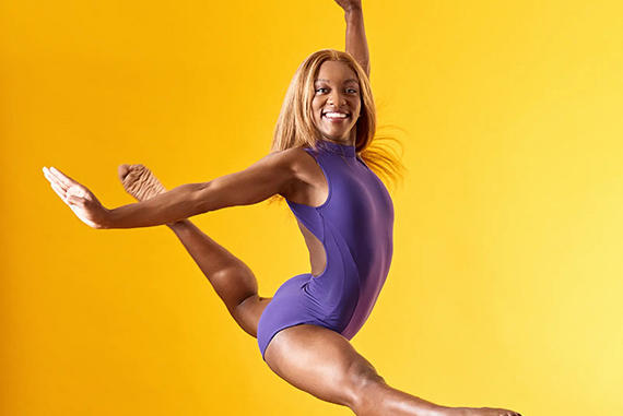 Picture for Charlotte's Iyanna Jackson a finalist for dance magazine model of year