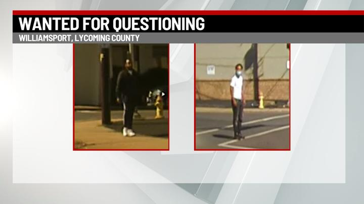 Cover for Williamsport police seek help identifying persons of interest in shooting