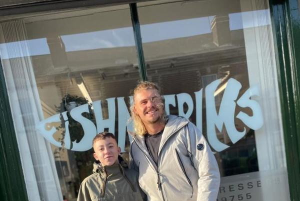 Picture for Fish n Trims barbers offers work placement to teen