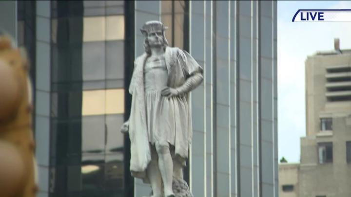 Cover for Indigenous People's Day replaces Columbus Day in one local school district, for now, due to tie vote by school board