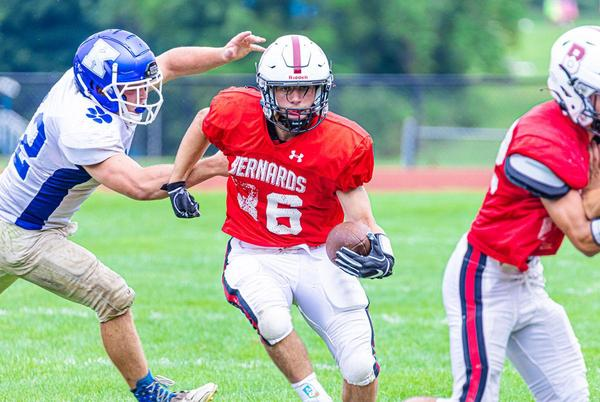 Picture for Bernards High School football team wins third straight in a blowout