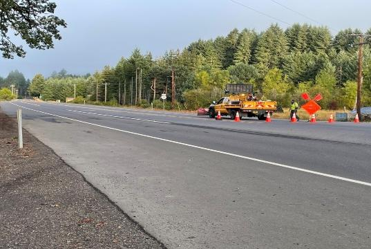 Picture for Alcohol may have played a role in fatal log truck crash on Highway 126