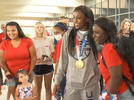 Picture for Community welcomes home Olympian Jackie Young