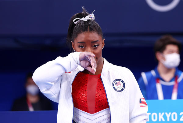 Picture for Simone Biles pulls out of Olympic team gymnastics competition over mental health