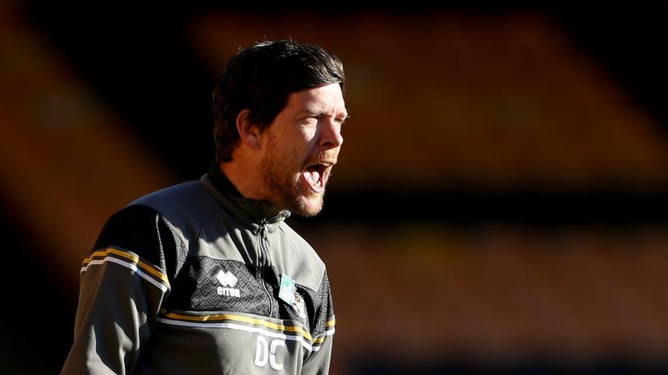 Picture for Darrell Clarke disappointed as Port Vale miss equalling century-old club record