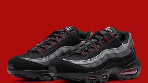 The Nike Air Max 95 Logo Makes Use Of The Chili Red Look News