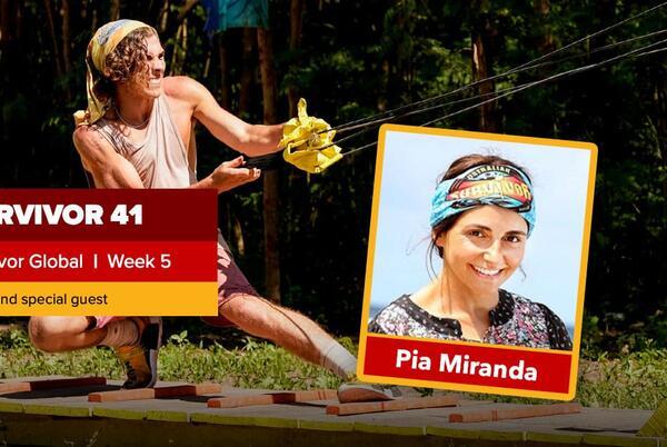 Picture for Survivor Global   Survivor 41 Episode 5 Recap   Pia Miranda