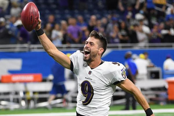 Picture for Justin Tucker Kicks A 66-Yard Field Goal, Setting An NFL Record