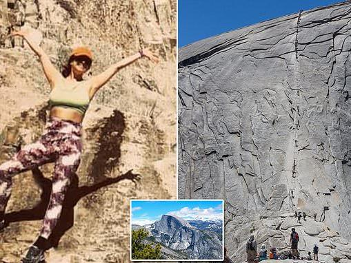 Pictured Hiker 29 Who Plunged 500 Feet To Her Death While Climbing The Famous Half Dome In Yosemite National Park News Break