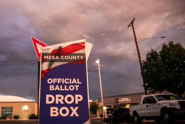 Picture for Mesa County Clerk Fights to Keep Her Job in New Court Filing