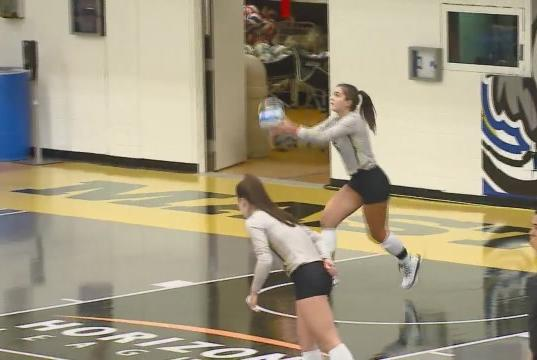 Picture for Five-set comeback falls just short for Mastodon women's volleyball
