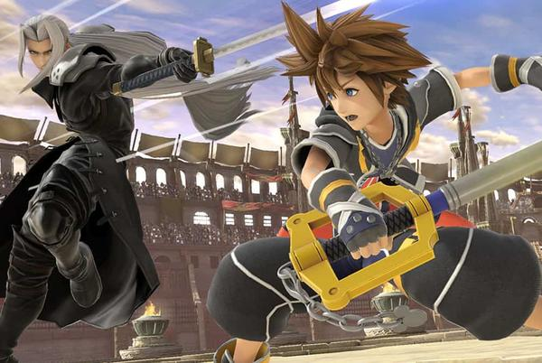 Picture for Super Smash Bros. Ultimate players are having fun on Twitter with Sora's hilarious crawl