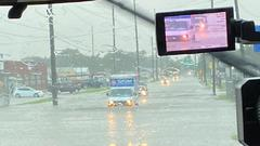 Cover for Heavy rain leads to flooding in west Wichita