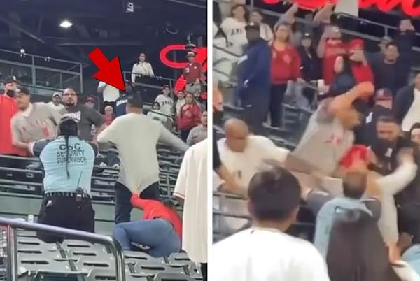 Picture for 7 Arrested After Wild Brawl At L.A. Angels Game, Woman Suffers Injury