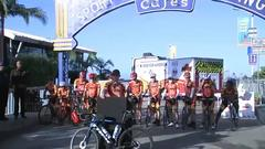 Cover for Firefighters embark on cross-country bike ride from LA to New York to mark anniversary of 9/11