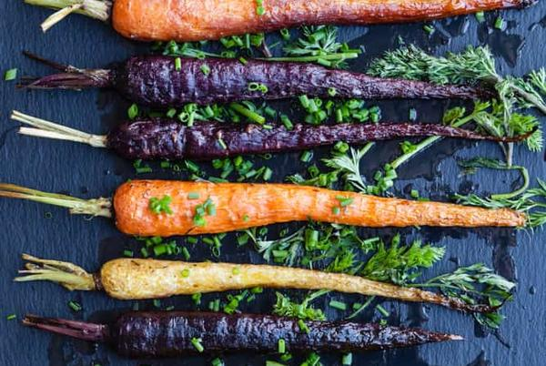Picture for Roasted Rainbow Carrots