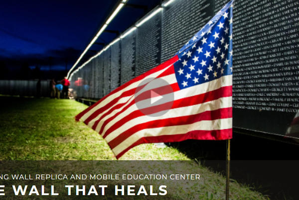 Picture for 'The Wall That Heals' visit to La Pine to include 200-motorcycle escort, Air Force flyover