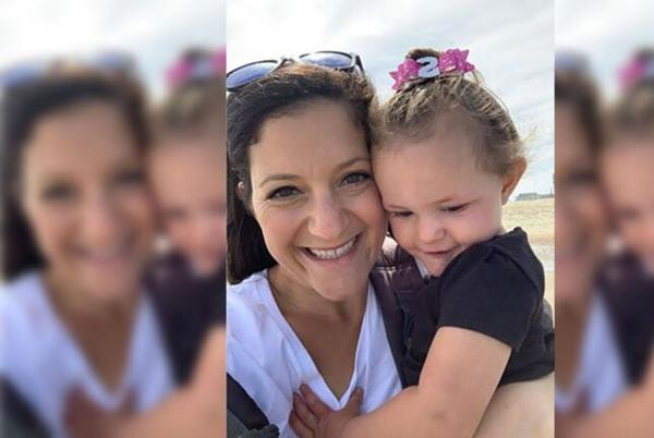Picture for Samantha Gasbarro is running for the hospital that treated her young children