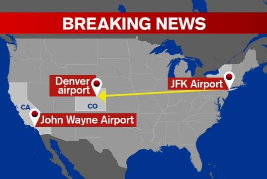 Picture for Passenger on plane from JFK punches flight attendant, forces emergency landing