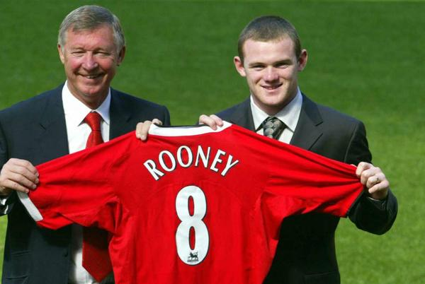 Picture for Wayne Rooney's debut for Manchester United - Who were his teammates and where are they now?