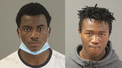 Cover for Homicide suspects from Nebraska captured by US Marshals in Riverside