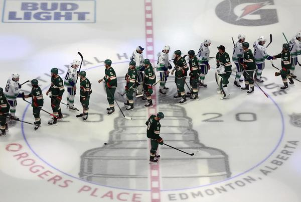 Picture for Preview: Wild face off with Canucks for first time since bubble elimination