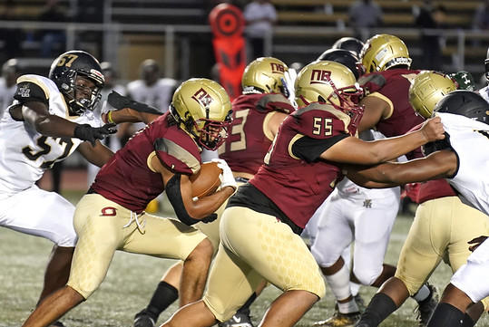 Picture for Two touchdowns from Diego Ortiz not enough as New Britain football falls to East Hartford at home