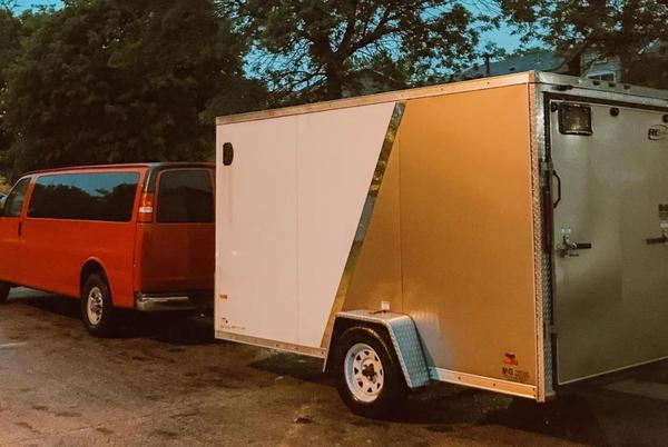 Picture for Minneapolis rock band Home and Harbor raising money to replace stolen trailer of equipment