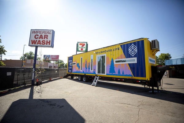 Picture for $310,000 and up, up, up: Stackable shipping container homes are coming to West Colfax