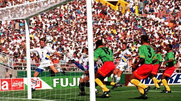 Picture for World Cup memories: How the rock and roll football of Tomas Brolin and Sweden lit up USA '94