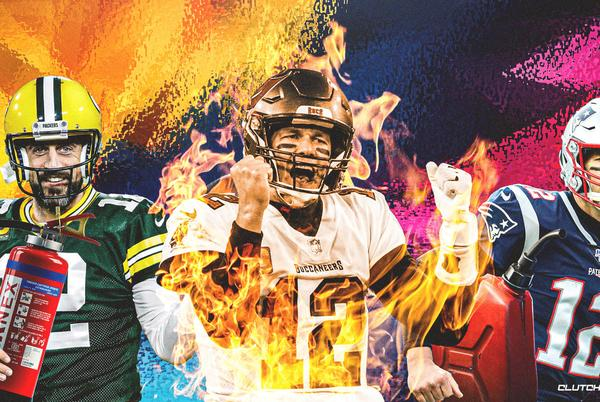Picture for Buccaneers QB Tom Brady on historic hot streak only ever matched by Aaron Rodgers