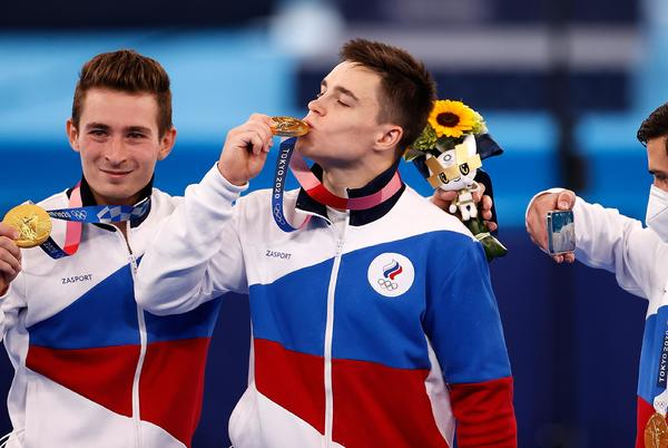 Picture for ROC gymnasts edge out Japan in thrilling Olympic men's team final