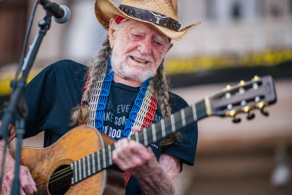 Picture for Willie Nelson coming to River Spirit Casino