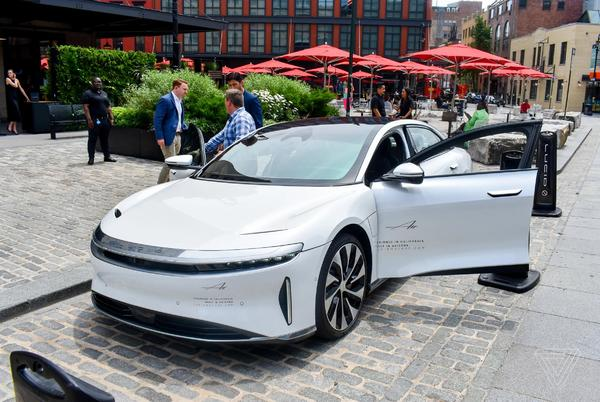 Picture for Lucid Motors' $4.5 billion merger is being held up by spam filters
