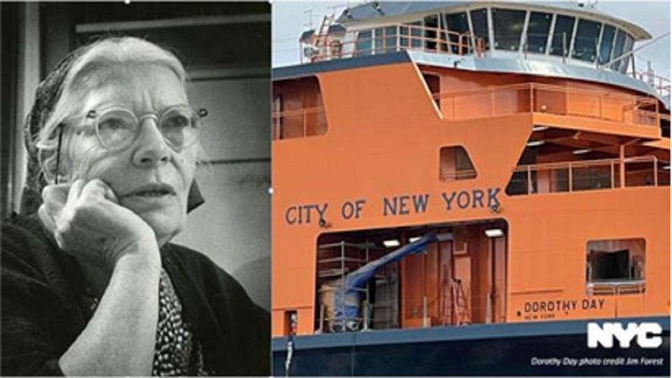 Picture for New boat to join Staten Island Ferry's fleet; will be named after Dorothy Day