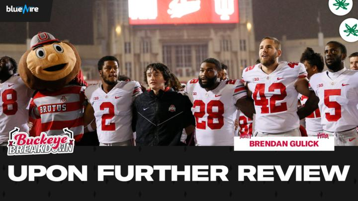 Cover for Upon Further Review: Ohio State's Blowout of Indiana Signals Warning Shot to College Football