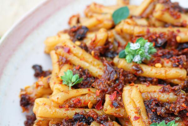 Picture for Vegan Sundried Tomato Pesto Pasta