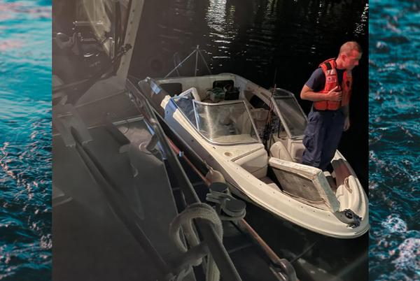 Picture for Coast Guard rescues two people from sinking vessel near Gulfport