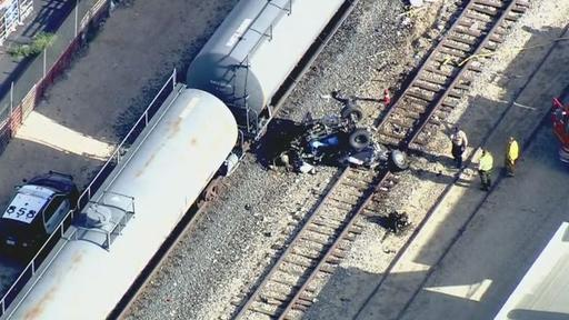Two Killed After Train Strikes Vehicle In Lancaster News Break