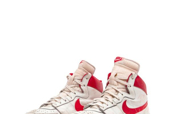 Picture for Michael Jordan's Game-worn Nike Shoes Top Most ValuableList