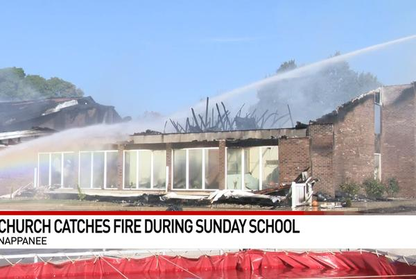 Picture for Nappanee church gutted in Sunday-morning fire