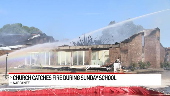 Cover for Nappanee church gutted in Sunday-morning fire