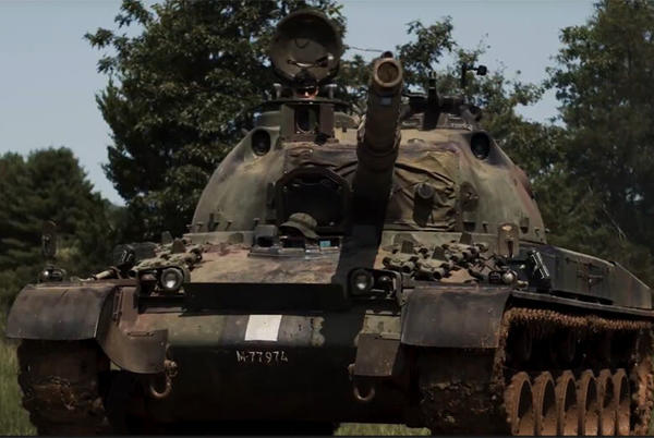 Picture for Tank farm open house offers up-close look at Americans in wartime experience