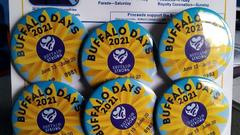 Cover for Buffalo Days Winning Buttons Announced