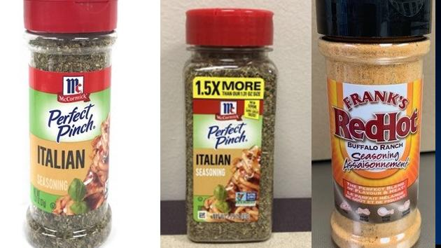 Picture for McCormick & Company Voluntarily Recalls Italian Seasoning, Frank's Red Hot Buffalo Ranch Seasoning Due To Possible Salmonella Risk